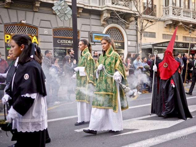 Semanan Santa Granada - 2. Karfreitag Spaziergang