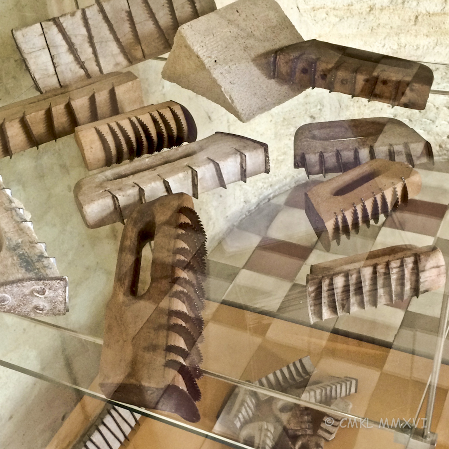 Renaissance style mason tools