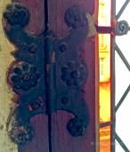 Window hinge, maybe not of Renaissance origin, but beautiful nevertheless