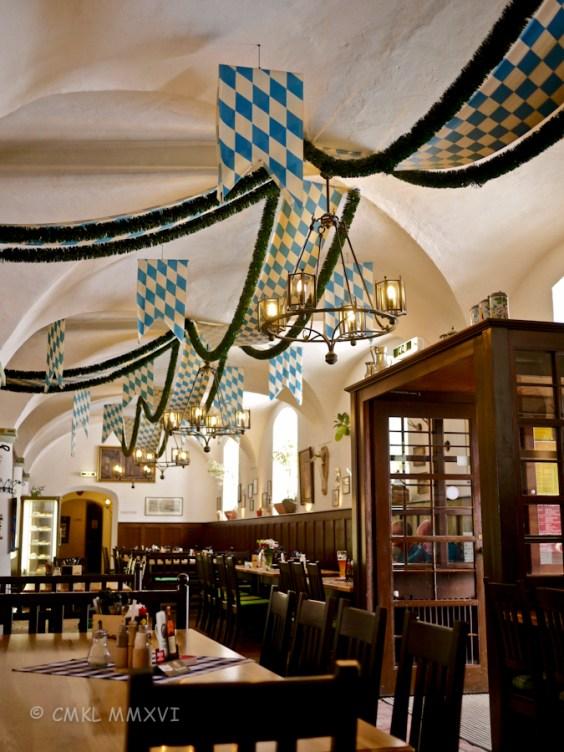 A Bavarian style restaurant