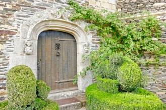 Adjacent door into castle