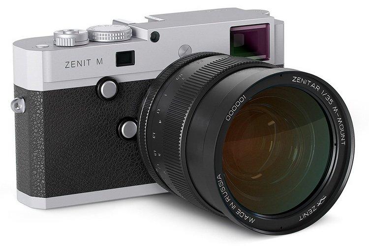 【Leica 代工】Zenit M 連 35mm f/1.0 鏡頭全球開售