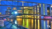 River Spree from the back of Reichstag (Bundestag)