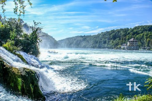 Rhine Falls - On the way to Switzerland, near Schaffhausen