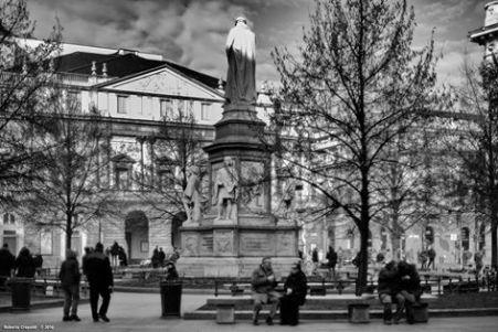Roberto Crepaldi, Piazza della Scala