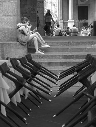 Alberto Scibona 010, L'amore al tempo degli smartphone