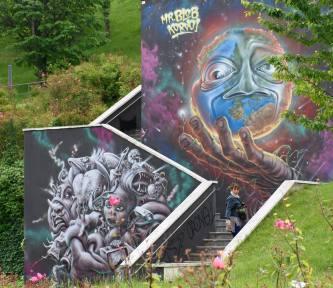Andrea Mele 004, Graffiti e periferie Ortica, Bicocca, Sesto, Padova