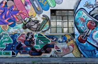 Andrea Mele 005, Graffiti e periferie Ortica, Bicocca, Sesto, Padova