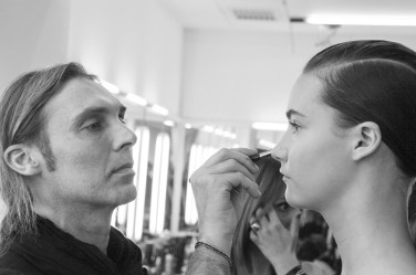 Backstage e party presentazione NEXT GENERATION 24/02/2015 Trucco di M.A.C. Cosmetics e parrucco TESTANERA