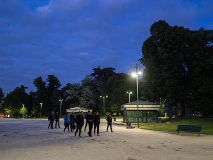 Gabriele Ghinelli 009, Sere d'estate al parco Sempione