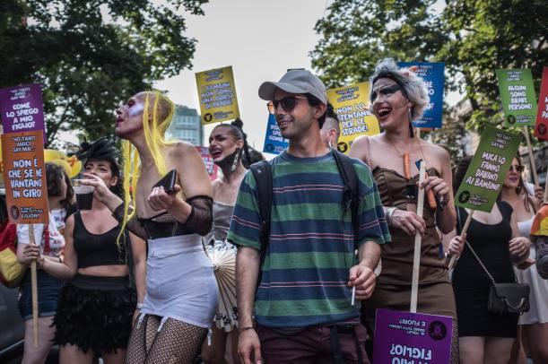 Marzio Toniolo 010, Milano Pride 2017