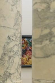 museo del 900 02 boccioni tra le colonne roberto manfredi