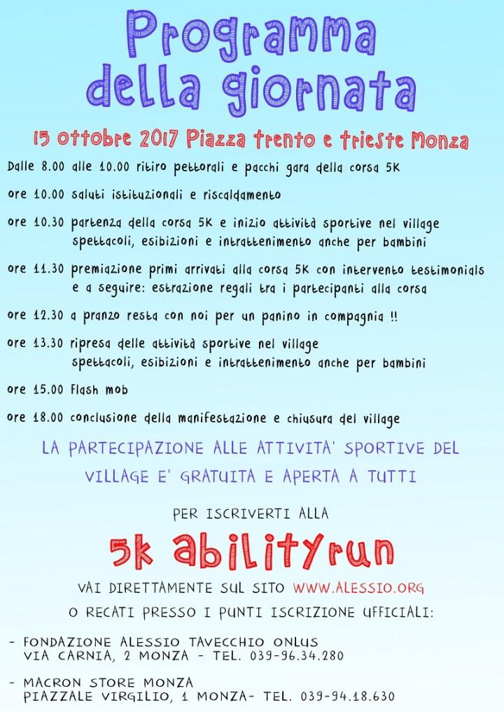 abilityDay Monza programma