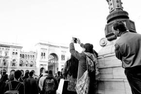 Enrico Nocito 007, Piazza Duomo durante una manifestazione militare