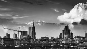 Michele De Fusco 002, dai tetti di Milano