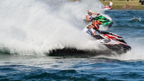 Michele De Fusco 040, campionato italiano di moto d'acqua all'idroscalo