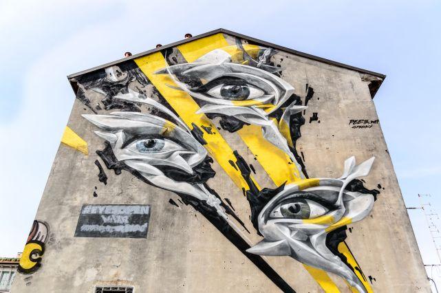 Michele De Fusco 043, vi osservo a tre occhi......Bovisa, Milano