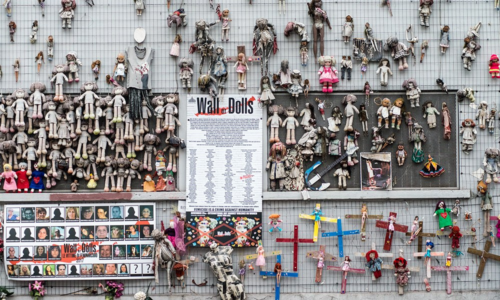 Wall Of Dolls