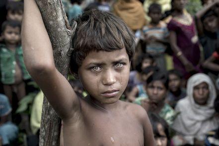 K M Asad, Battle Victim, 2018, Ukhiya (Bangladesh)