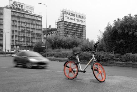 Bike sharing a Milano, Fotografie di Daniele Rossi