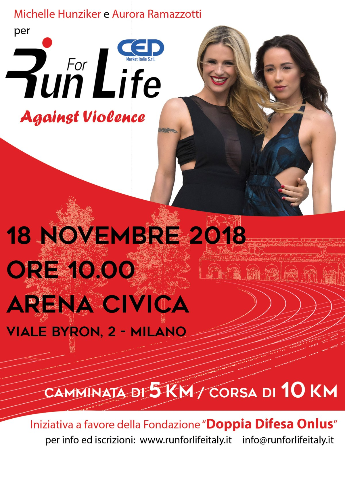 RUN FOR LIFE 2018 - against violence