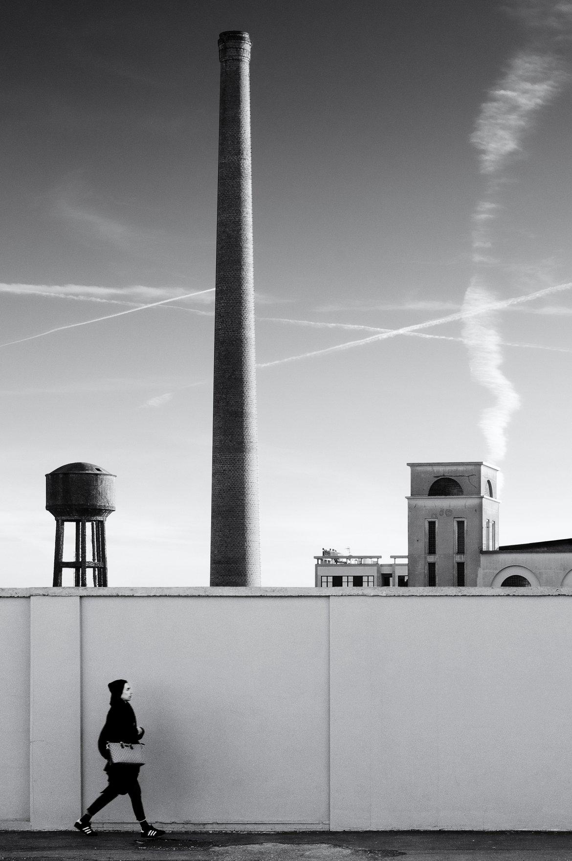 Giacomo Galli, Periferia – viale Ortles, 2017