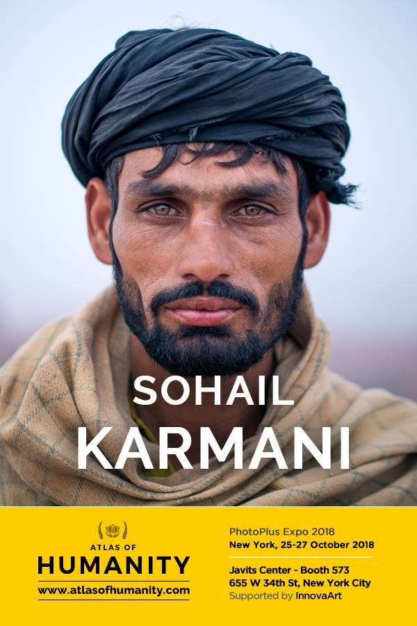 Sohail Karmani, a PhotoPlus Expo 2018, New York - Atlas of Humanity supported by Innova Art, 25-27 ottobre