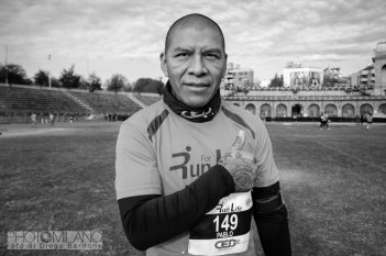 Diego Bardone, Run For Life, 2018, Milano, Arena Civica