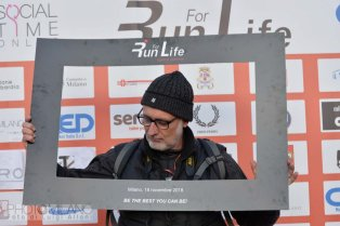 Luigi Alloni, Run For Life, 2018, Milano, Arena Civica