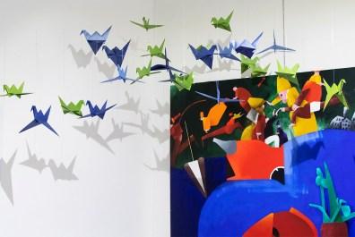 Origami tra Arte e Scienza in mostra a Spazio Tadini a Milano - foto Daniele Rossi