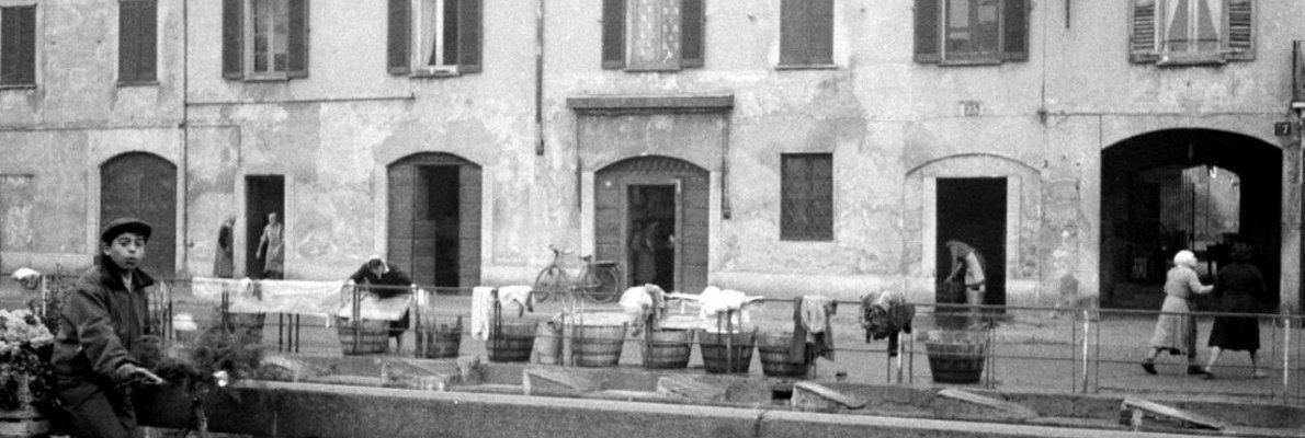 Via Ascanio Sforza, Civ.25,1958, Proprietà AFI, Virgilio Carnisio
