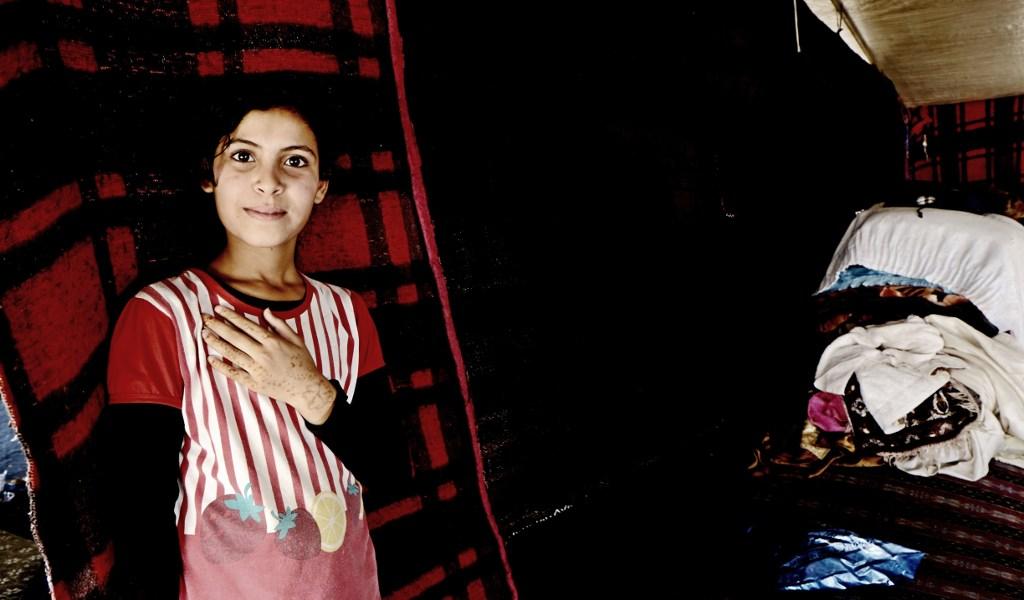 Simone Margelli Siria Storie di fuga e accoglienza, Famiglia di Hassna
