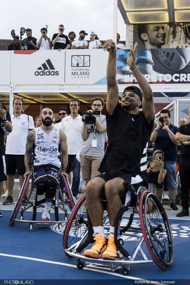 Jamal Murray a The Minals, le finali adidas Playground Milano League, foto di Mirko Torresani