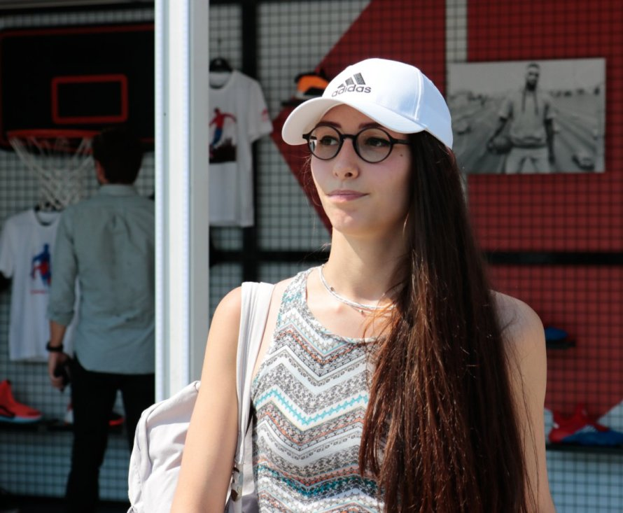 Francesca Tadini dello IULM in una foto di Daniela Loconte