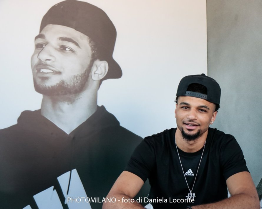 Jamal Murray ad adidas Playground Milano League, foto di Daniela Loconte