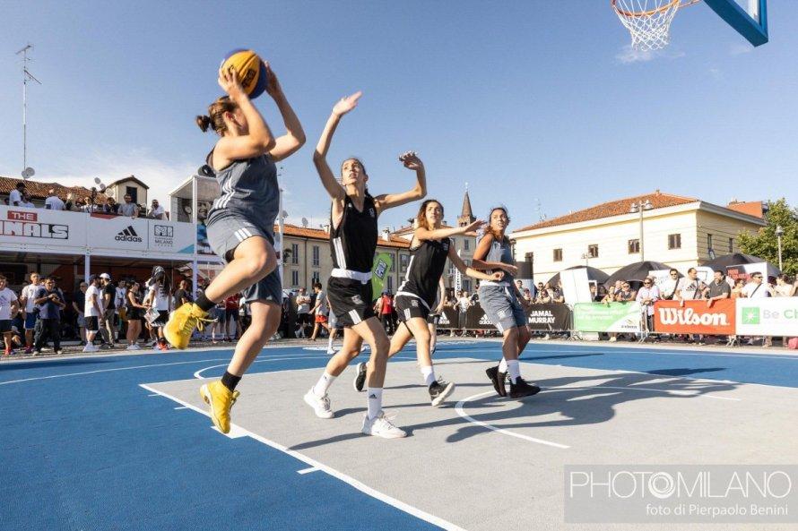adidas Playground Milano, The Minals, basket, foto di Pierpaolo Benini