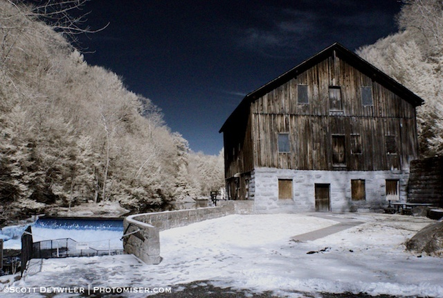McConnells Mill false colorIR