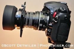UV Lens Rig