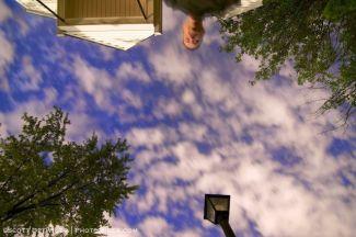 Suburban Night Sky