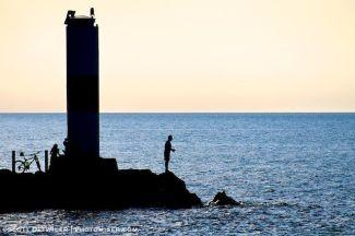 Fisherman Silhouette
