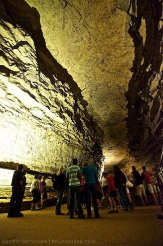 Mammoth Cave, Rotunda, Historical TOur
