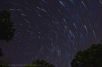 Star Trail Comets