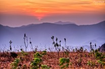 Sunset at Coorg