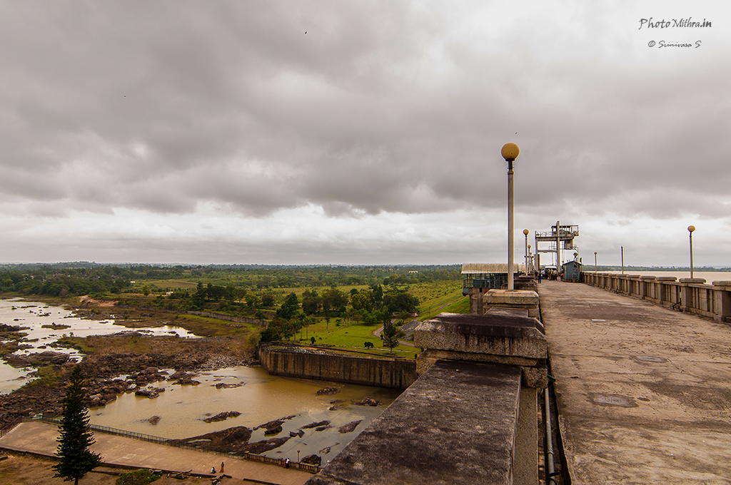 Gorur Hemavathi Reservoir - no outflow from the dam