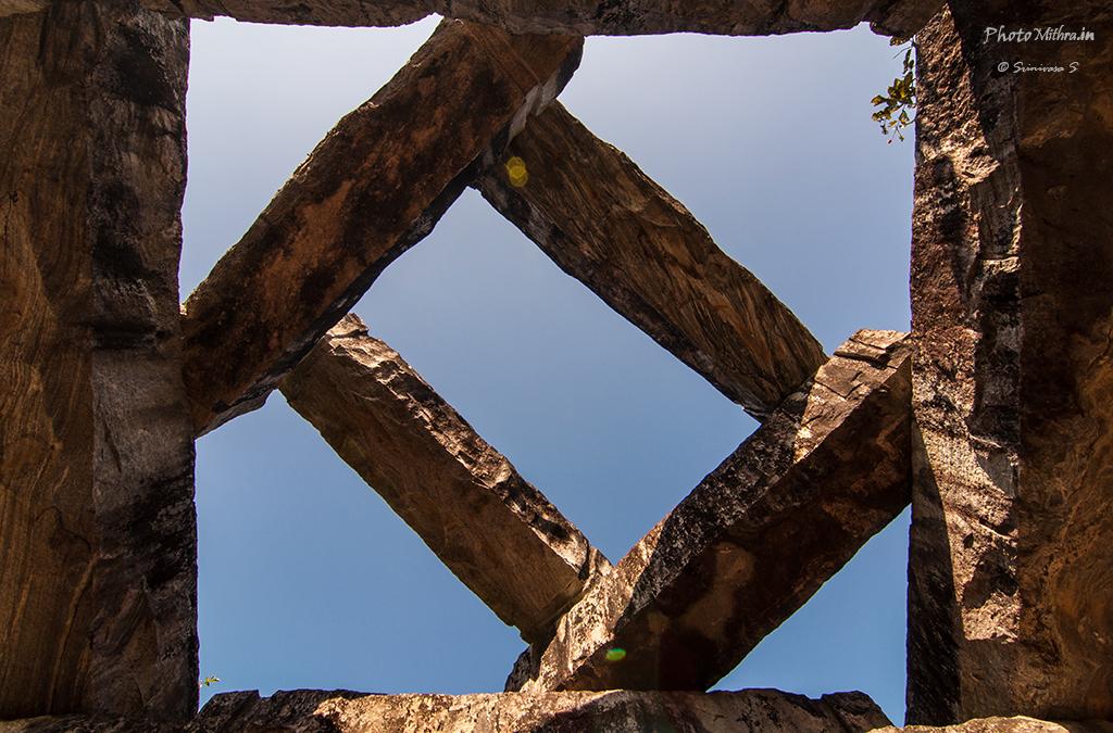 Criss Cross rocky arch