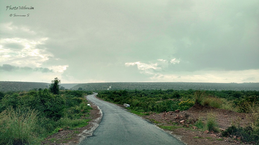 Road to Gandikota