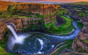 Palouse Falls Washington United States