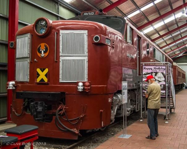 SAR 900 Class Diesel Electric