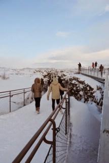 Pingvelli: promenade dans la faille entre continents eurasien et nord-américain