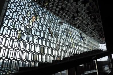L'intérieur de Harpa